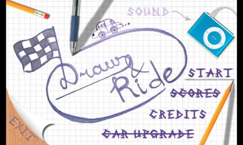 Draw and Ride screenshot 1