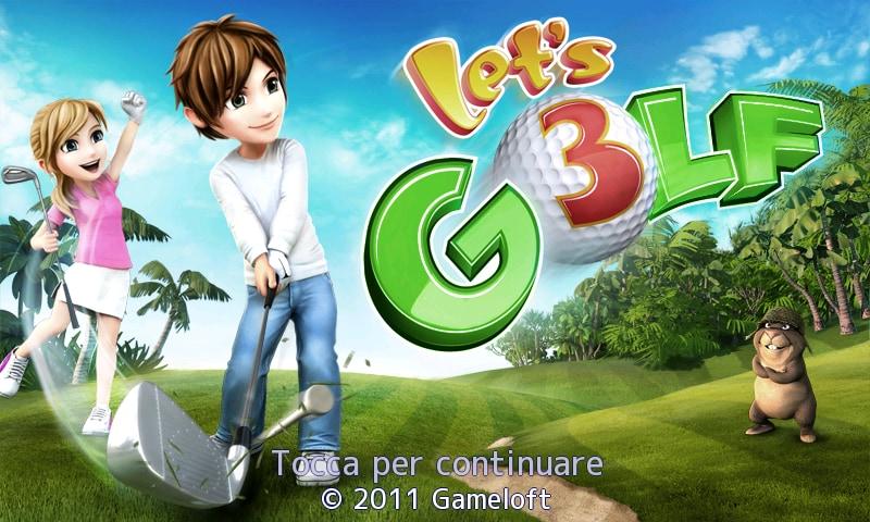 Let's Golf! 3 - 1