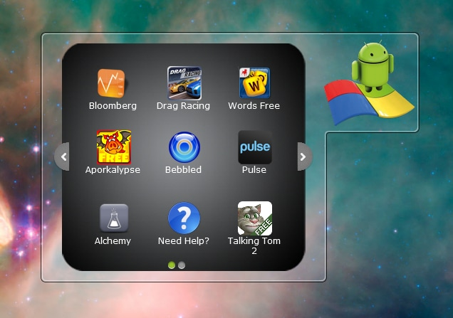 BlueStacks gadget