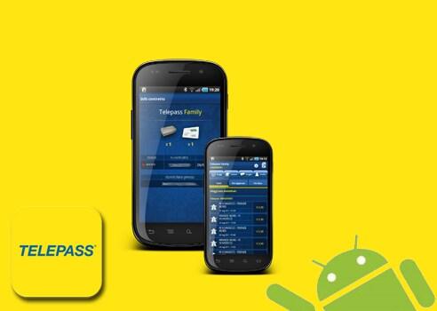 Telepass sbarca su Android