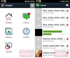 Google+ ICS