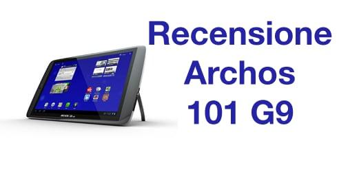 Recensione Archos 101 G9