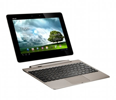 PR ASUS Eee Pad Transformer Prime with dock Champagne Gold