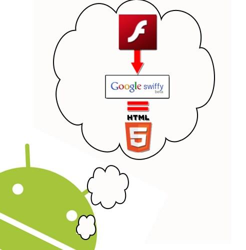 Swiffy, Flash e l'HTML5