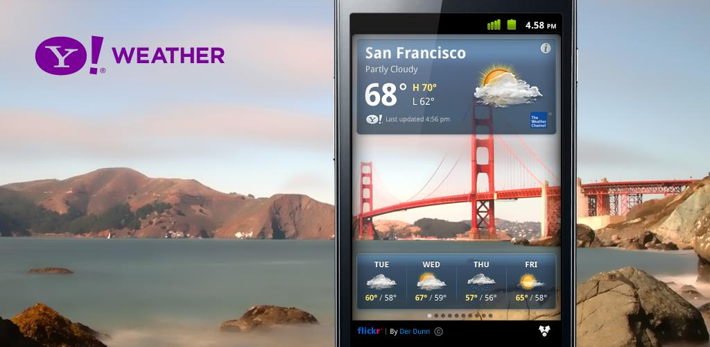 Yahoo Meteo per Android