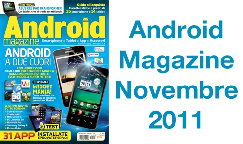Android Magazine Novembre 2011