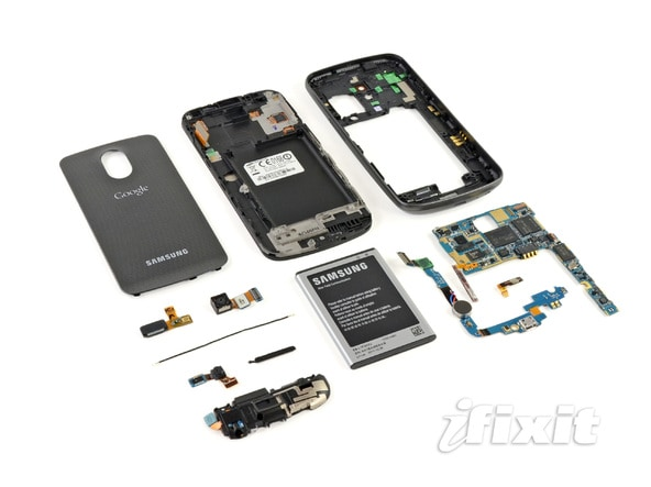 Samsung Galaxy Nexus ifixit