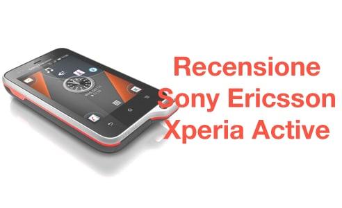 Sony Ericsson Xperia Active recensione