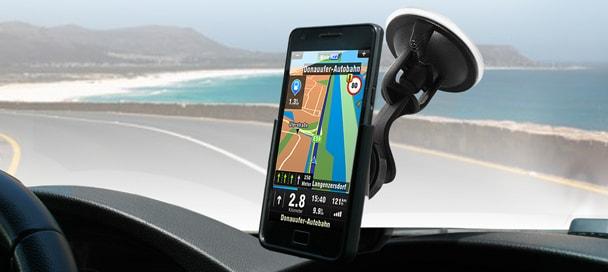 Supporto auto Galaxy S II