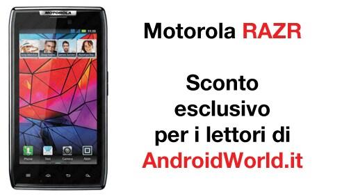 Sconto Motorola RAZR