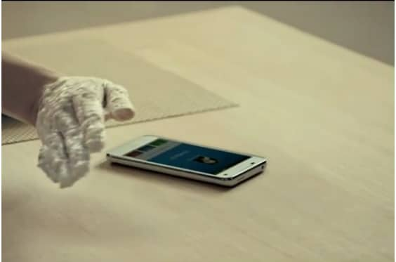 touchless gesture