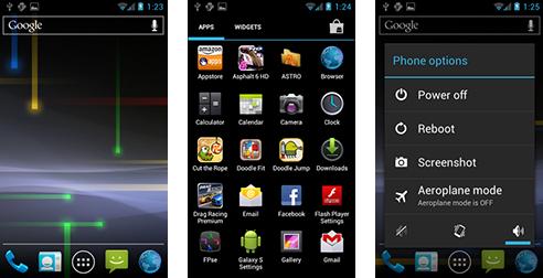 ICS Galaxy S