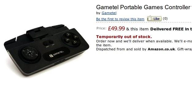 Controller Gametel