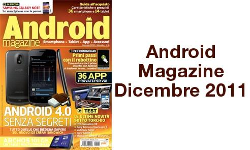 Android Magazine Dicembre 2011