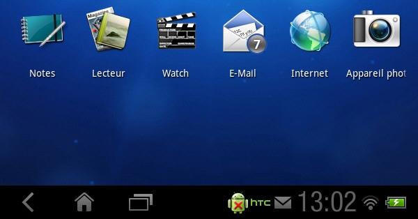 Honeycomb su HTC Flyer