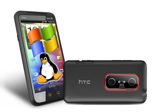 HTC-EVO-3D linux windows