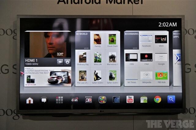 LG nexus Google TV