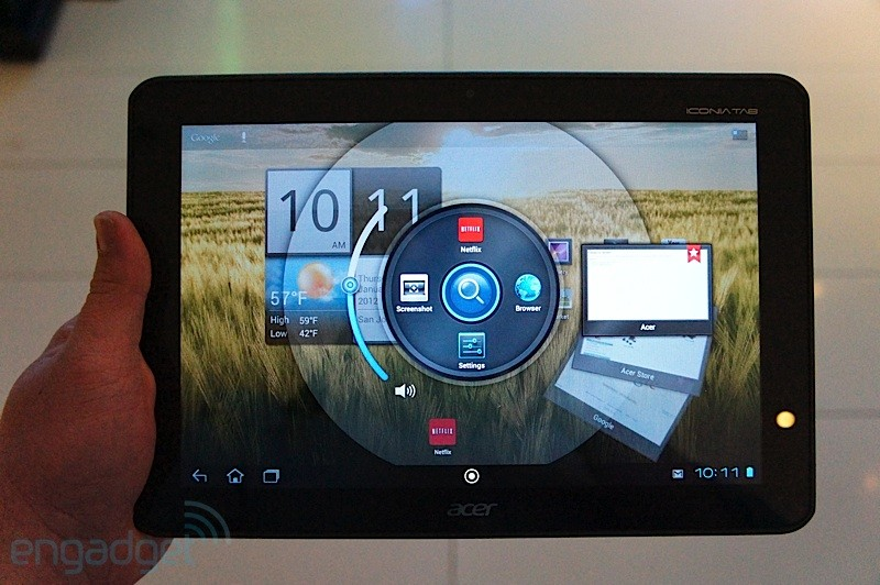 Acer Iconia Tab A200: primo hands-on