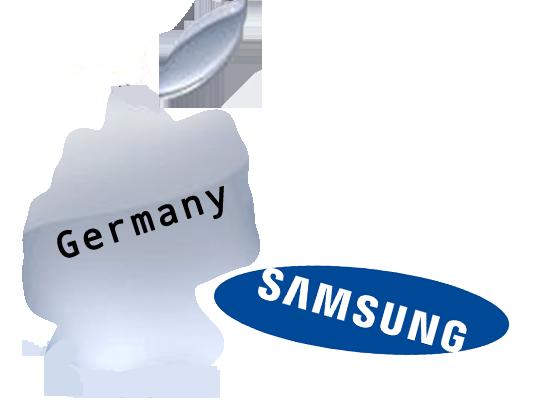 germania apple samsung