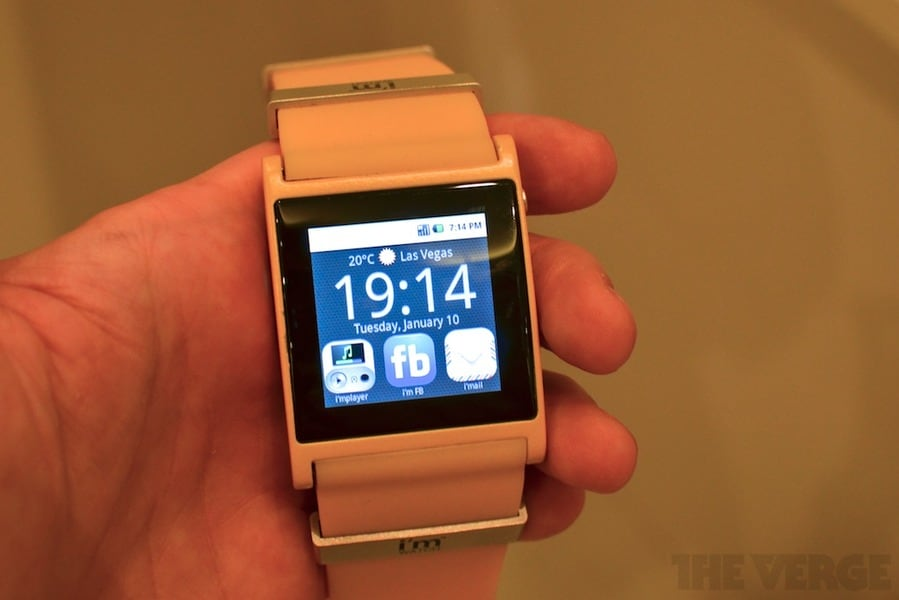 I'm Watch: l'orologio con Android (hands-on)