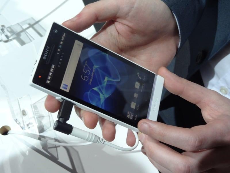 Sony Xperia S, prova