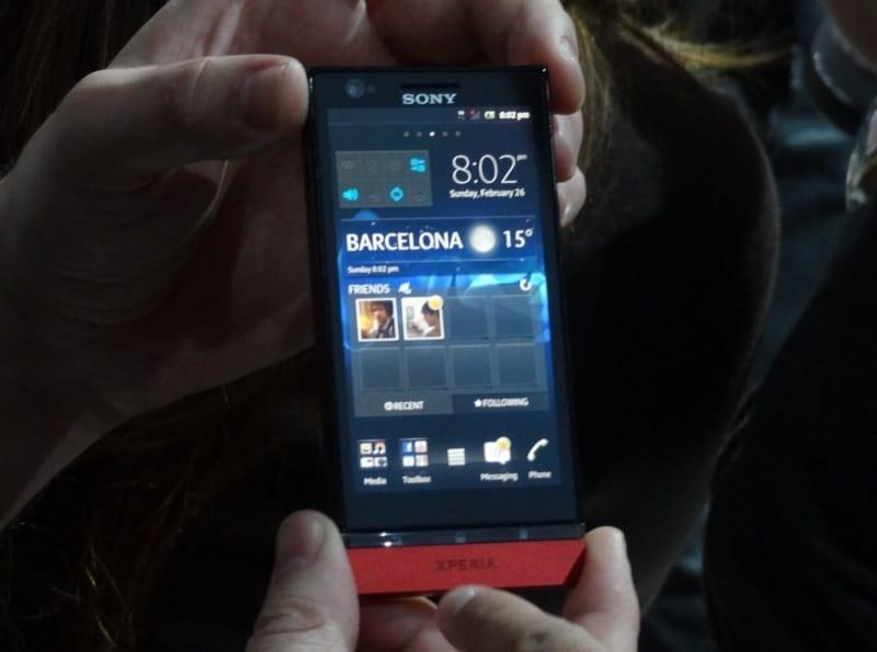 Sony Xperia P, prova MWC 2012