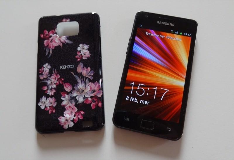 Cover Kenzo per Samsung Galaxy S II