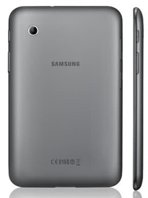 Galaxy tab 2 dietro