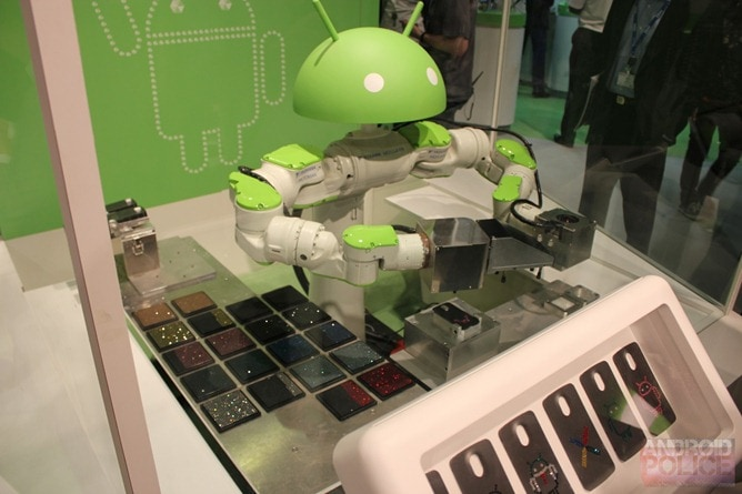 android robot cover