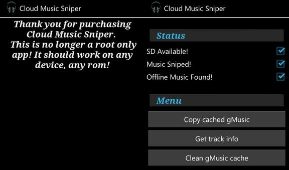 cloud music sniper