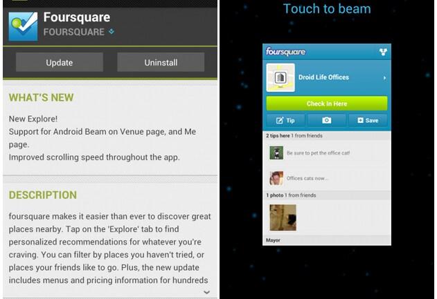 foursquare beam