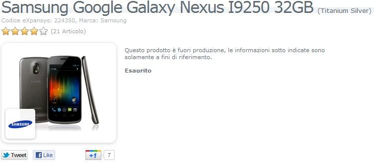 galaxy nexus 32gb