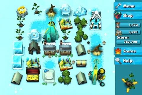 Yeti Town, la copia di Triple Town creata da 6waves
