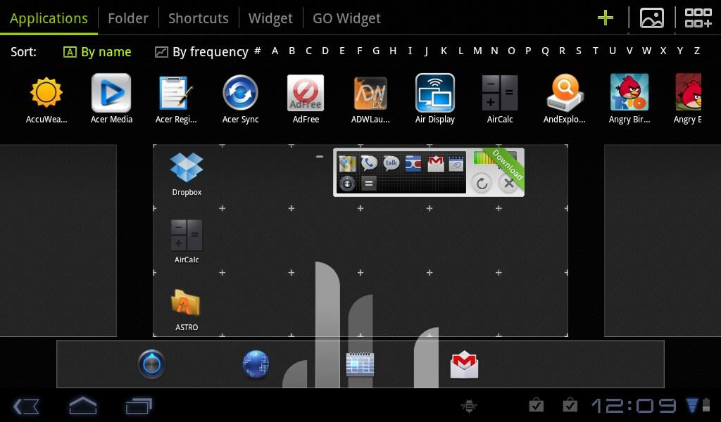 GO Launcher HD Beta (2)