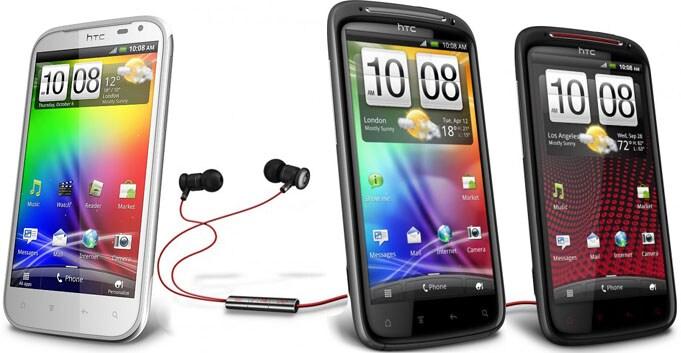 HTC Sensation linea serie