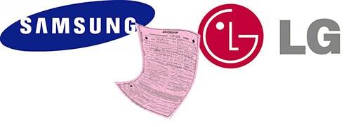 Samsung LG multa