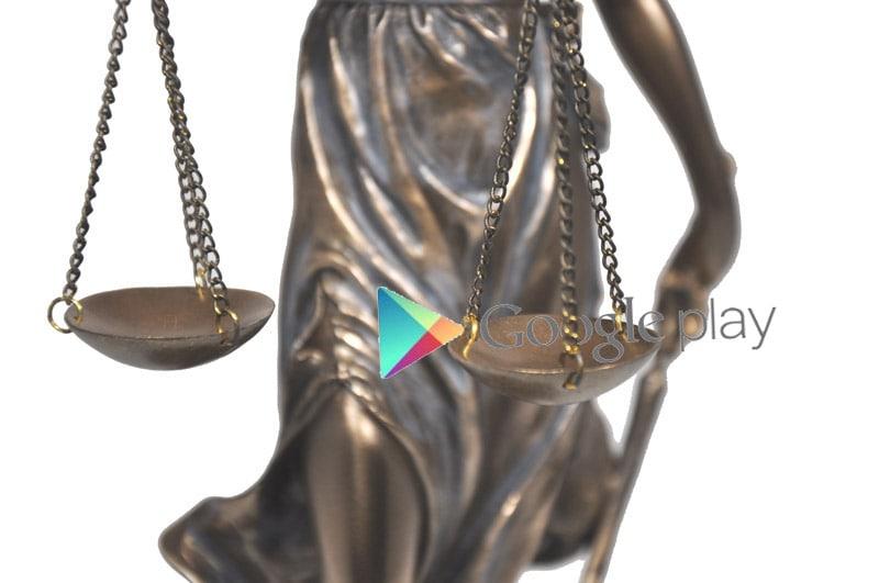 Statuetta giustizia