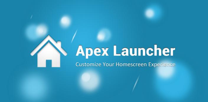Apex Launcher rinnova la sfida a Nova Launcher (download apk)