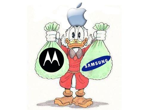 apple samsung motorola