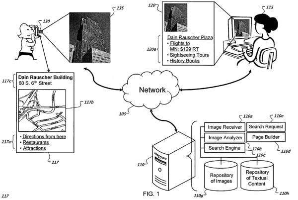 google brevetto foto posizione