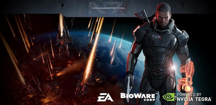 Mass Effect 3 Live Wallpaper disponibile per dispositivi Tegra