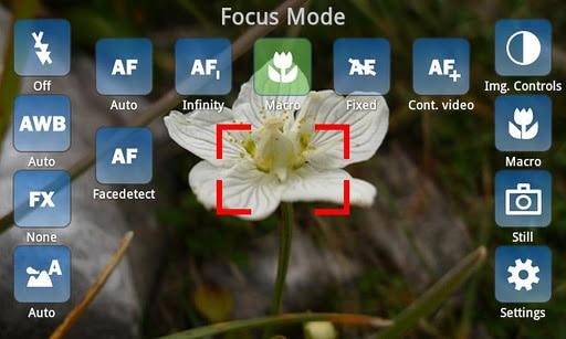 Interfaccia fotocamera CameraPro