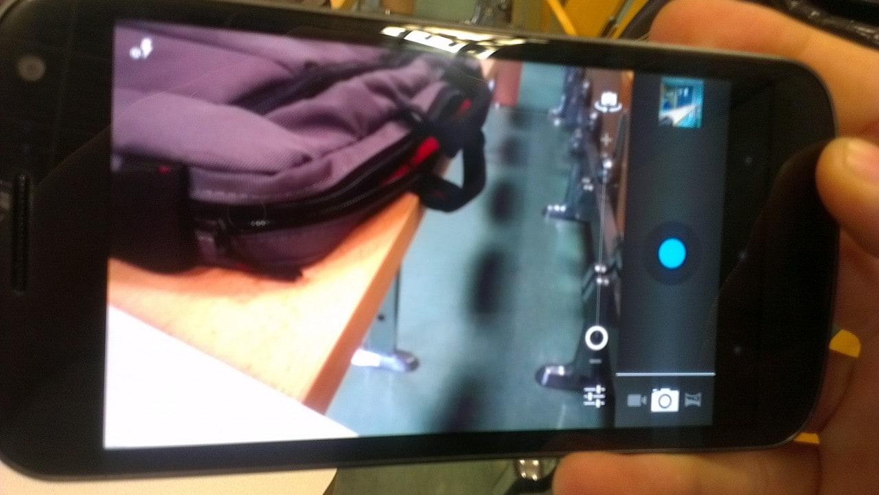 Fotocamera Galaxy Nexus
