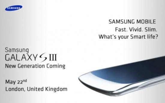 Samsung Galaxy S3 presentazione