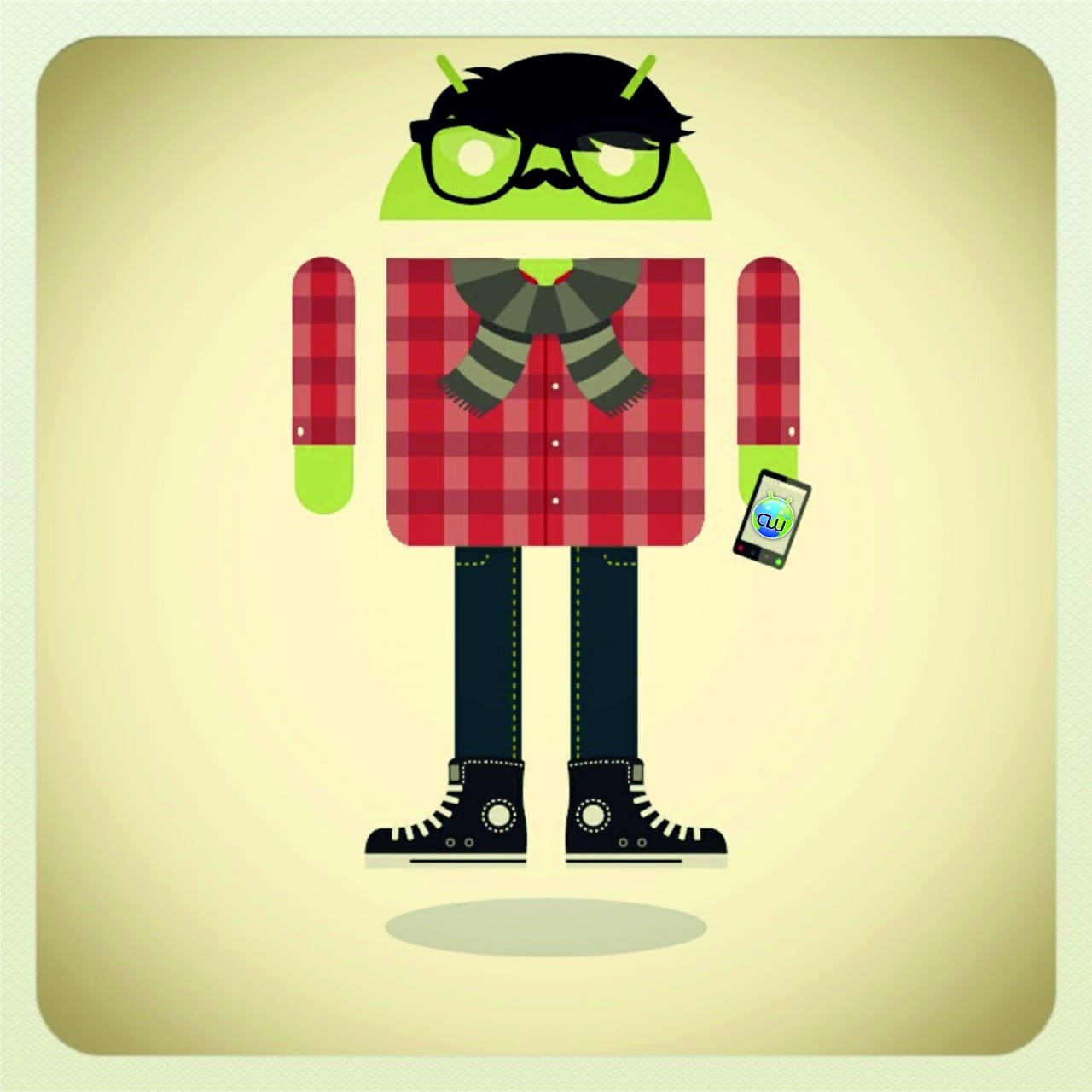 HipsterDroid