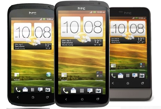 Confronto HTC One X, One V, One S