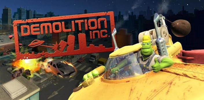 Demolition Inc. THD arriva sul Google Play Store per dispositivi Tegra 2 e 3, presto anche per altri smartphone/tablet
