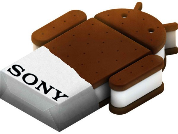 sony ice cream sandwich