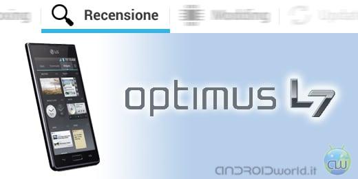 LG Optimus L7 recensione