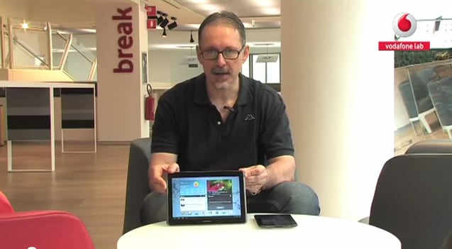 Recensione Vodafone Galaxy Tab
